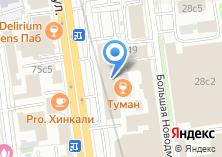 Компания «КАДРО консалтинг» на карте