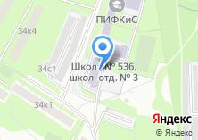 Компания «Средняя общеобразовательная школа №524» на карте