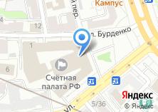 Компания «Счетная палата РФ» на карте