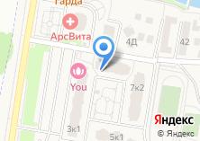 Компания «Строящийся жилой дом по ул. Бутово д (Бутово)» на карте