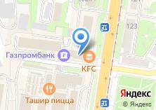 Компания «Азарт» на карте