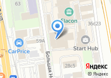 Компания «Макрономика» на карте