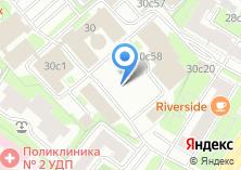 Компания «ХимЗона» на карте