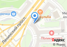 Компания «Мастерская по ремонту одежды на Ленинском проспекте» на карте