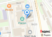 Компания «Индизайн» на карте