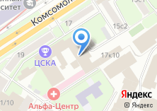 Компания «Комсомольский проспект» на карте