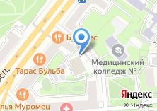 Компания «Банк Солидарность» на карте