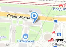 Компания «Ремонт окон Владыкино» на карте