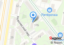 Компания «Мединтерьер» на карте