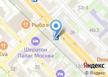 Компания «MadPizza» на карте