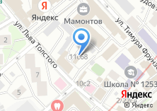 Компания «Инфосекьюрити Сервис» на карте