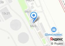Компания «Антанта РМ» на карте