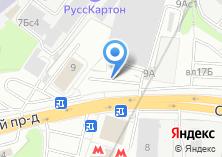 Компания «Сберкред Банк» на карте