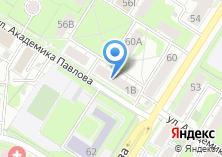 Компания «Мир дверей» на карте