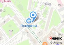 Компания «На Новолесной» на карте