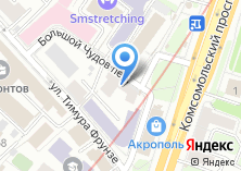 Компания «Банковское дело» на карте
