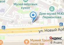 Компания «Сэнсор» на карте