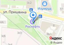 Компания «АЗС Роснефть» на карте