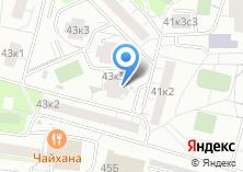 Компания «Строящийся жилой дом по ул. Чертановская» на карте