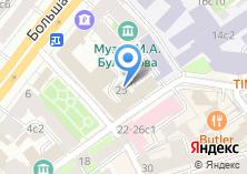 Компания «Натива» на карте