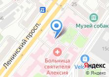 Компания «Храм Тихвинской Иконы Божией Матери при Центральной клинической больнице» на карте