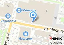 Компания «МИР красок» на карте