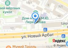 Компания «Золотой Арбат» на карте