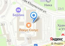 Компания «Профсоюз работников торговли общественного питания потребкооперации г. Москвы» на карте