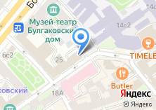 Компания «Связной Банк» на карте