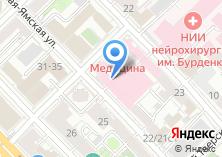 Компания «Медицина» на карте