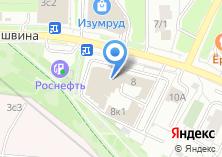 Компания «КБ Русский элитарный банк» на карте