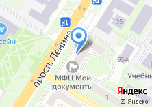 Компания «ЕВРОХИМЧИСТКА» на карте