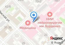 Компания «Юридический центр град» на карте