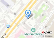 Компания «Почтовое отделение №119071» на карте