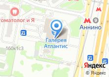 Компания «Строящееся административное здание по ул. Варшавское шоссе» на карте