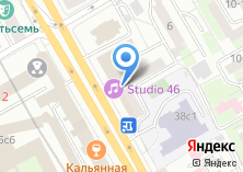 Компания «АКБ Инвестбанк» на карте