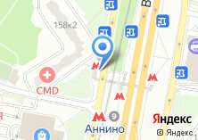Компания «Станция Аннино» на карте