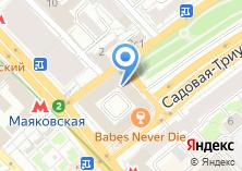 Компания «Московское время» на карте