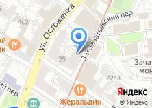 Компания «Кондоминиум Остоженка» на карте