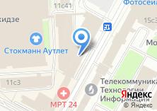 Компания «IT AV services» на карте