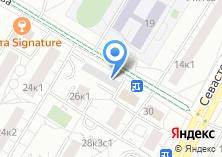 Компания «Автостоянка МГСА Юго-Западный административный округ» на карте