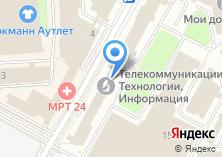 Компания «СетьПроект» на карте