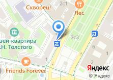 Компания «YES» на карте