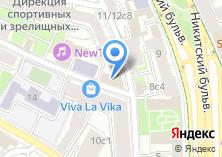Компания «Московский дантист» на карте