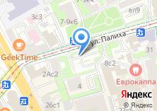 Компания «Автостоянка МГСА Центральный административный округ» на карте