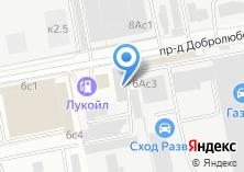 Компания «Vencore.ru» на карте