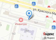 Компания «Лечу» на карте