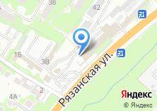 Компания «Магазин металлоизделий на Рязанской» на карте