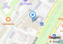 Компания «Литературный институт им. А.М. Горького» на карте