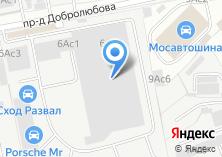 Компания «Стекмос» на карте